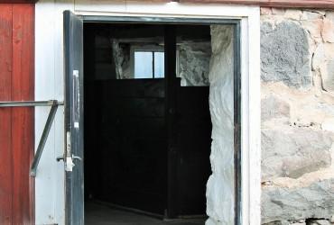 Ingången till Stallet